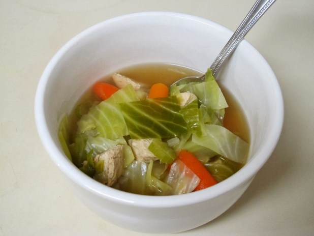Chicken broth and other soups