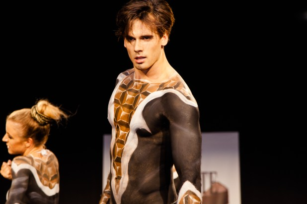 Body painted male dancer 2