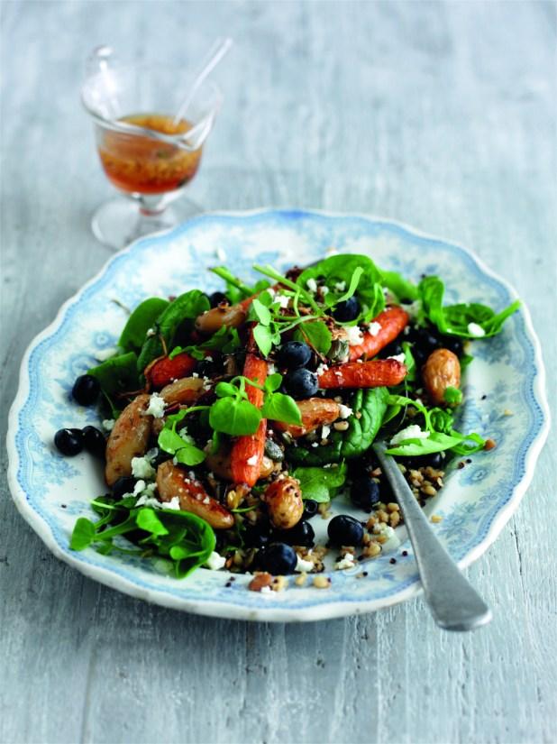 mixed grain salad low calorie recipe