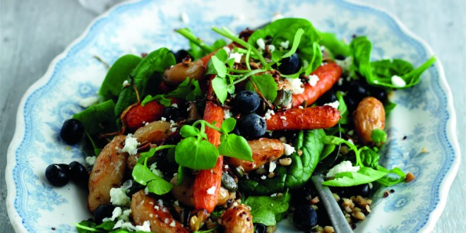 mixed grain salad low calorie recipe