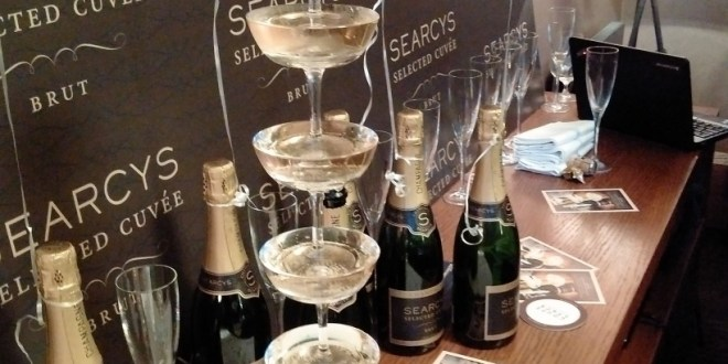 Searcys champagne launch