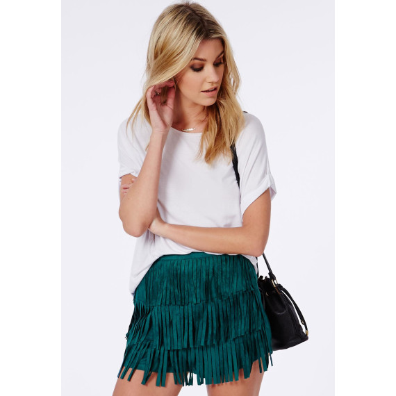 product-missguided-fringe-faux-suede-shorts-jade-green-green-25947808