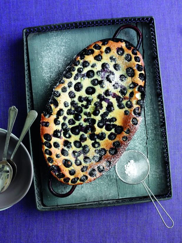 Blueberry clafoutis 6