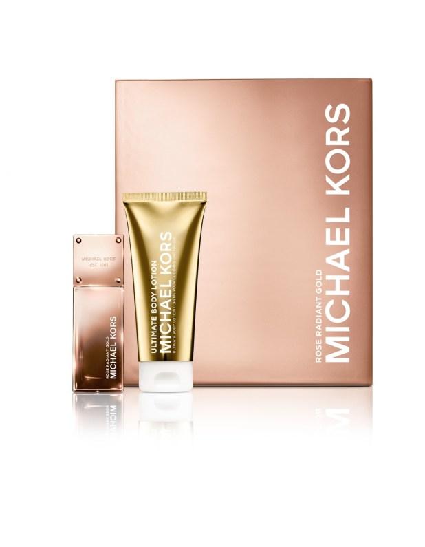 www.Lifeandsoullifestyle.com – Ultimate Christmas Fragrance Guide - Michael Kors Rose Gold Gift Set