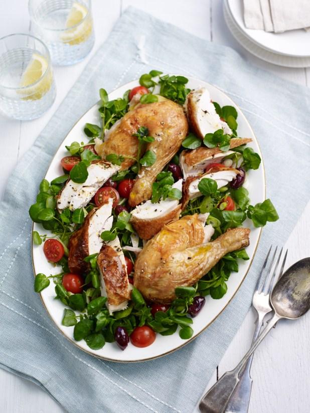 Roast Chicken and watercress salad (2)