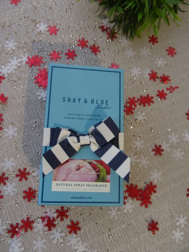 www.lifeandsoullifestyle.com – Introducing Shay and Blue White Peaches fragrance