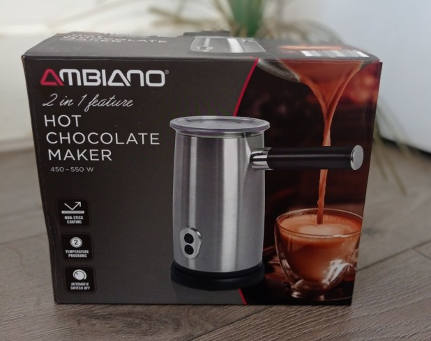 www.lifeandsoullifestyle.com - Aldi Ambiano Hot Chocolate maker