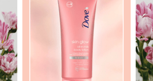 www.lifeandsoullifestyle.com - Dove Skin glow oil-in-milk body lotion