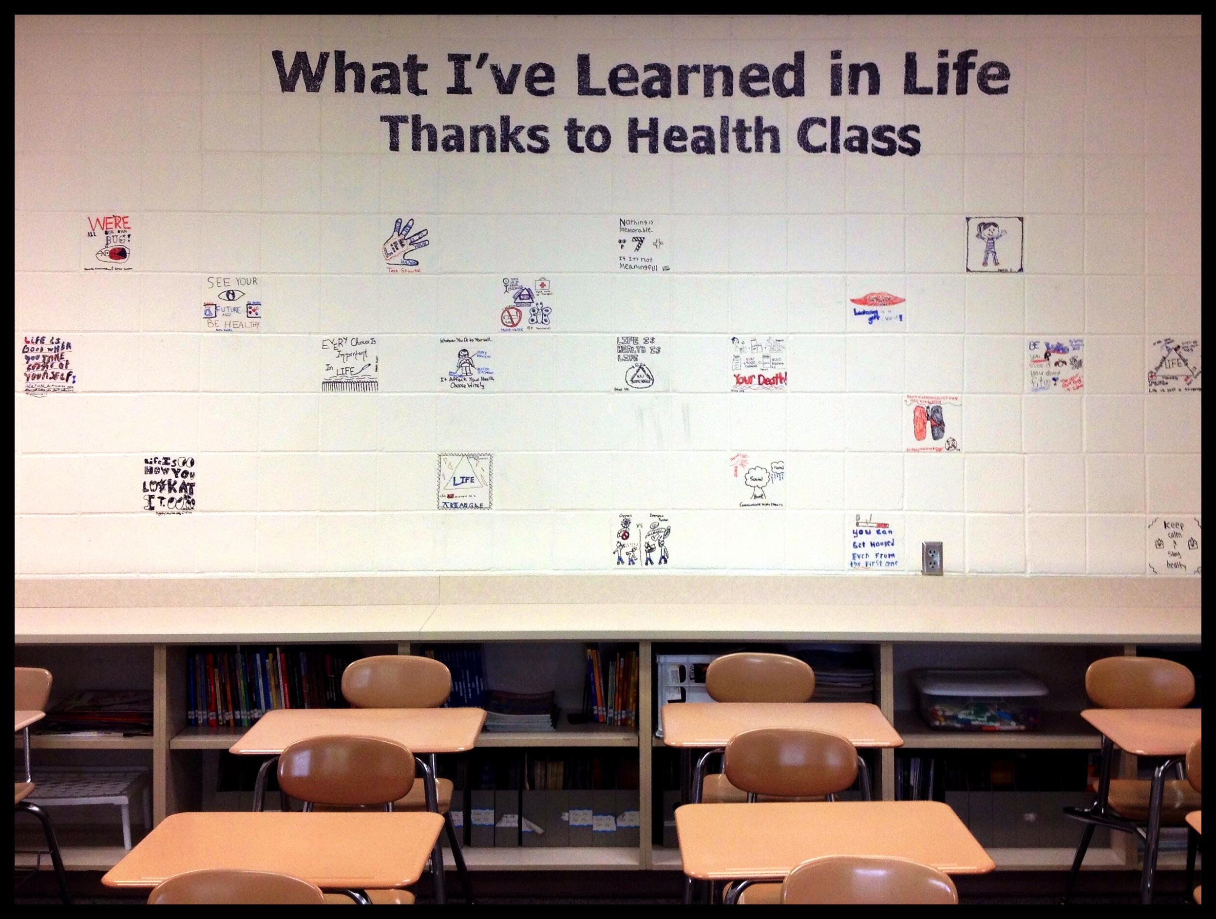 6th Grade Health Class