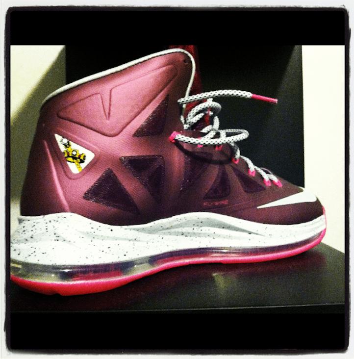 "Nike s Lebron James X ""Diamond"" Is Forever  986bbdecf"