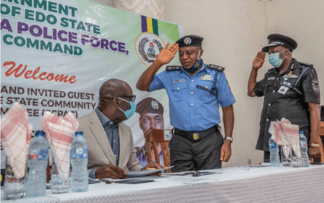 Police engage kidnapper
