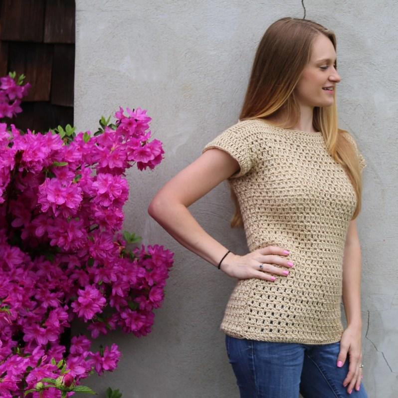 Felicity Tee Free Crochet Pattern