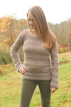 Free Crochet Pullover Sweater