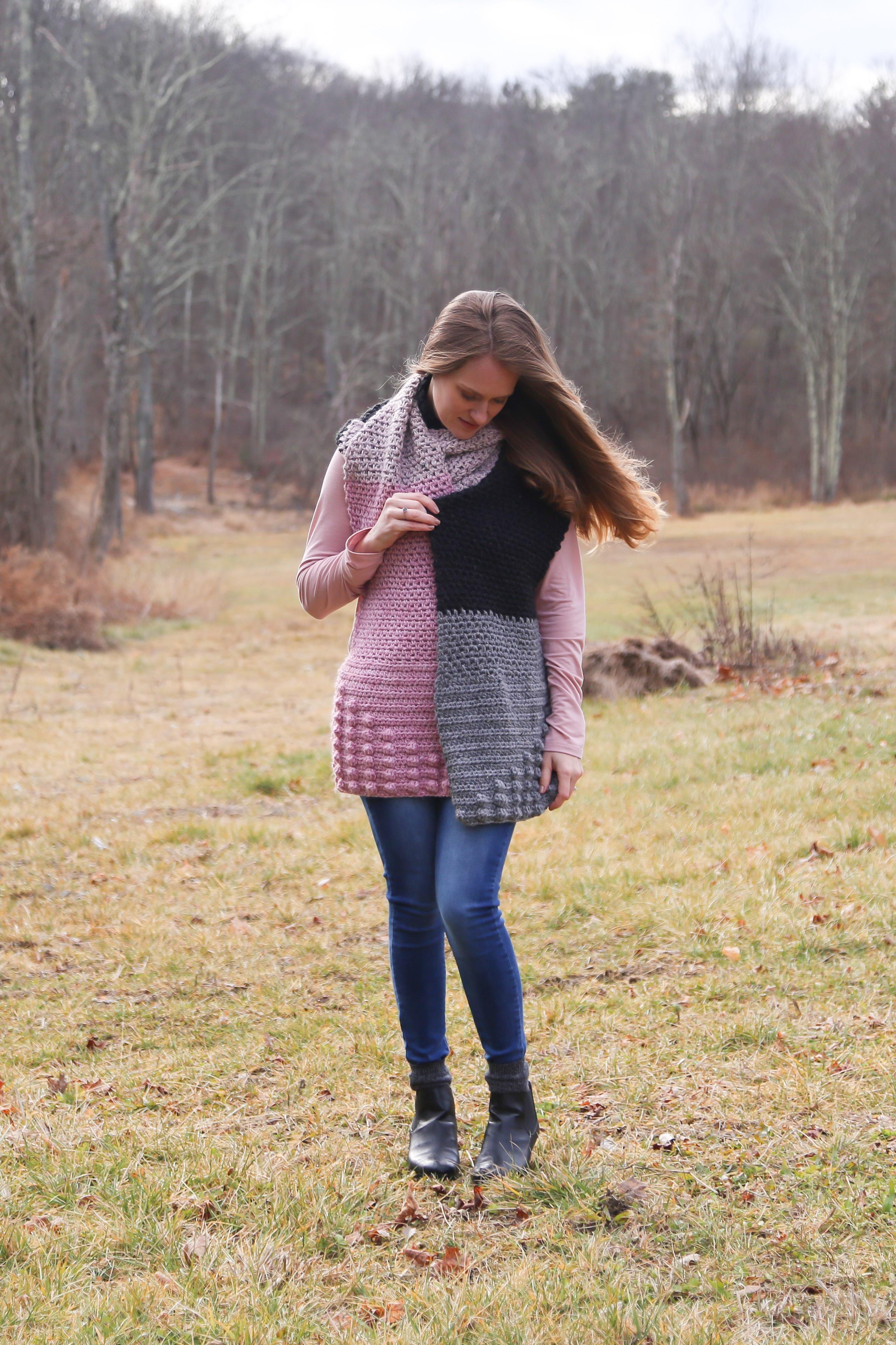 Simple Crochet Scarf