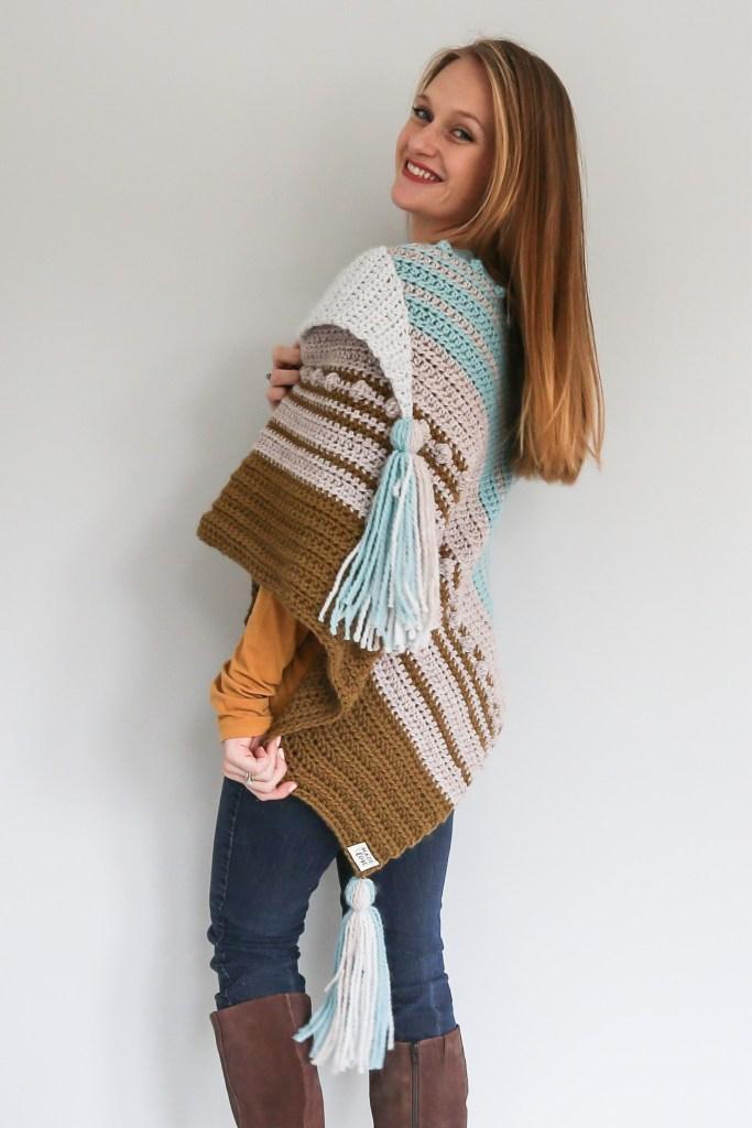 Esmeralda Triangle Scarf Crochet Pattern