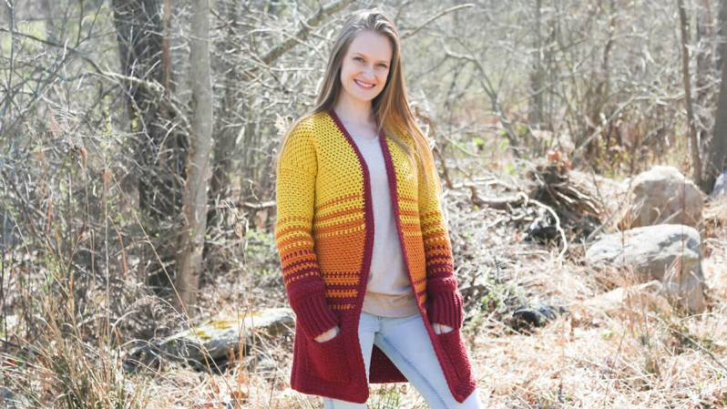 Holly Cardigan by Life and Yarn