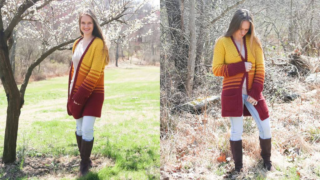 Crochet a Cardigan with Pockets