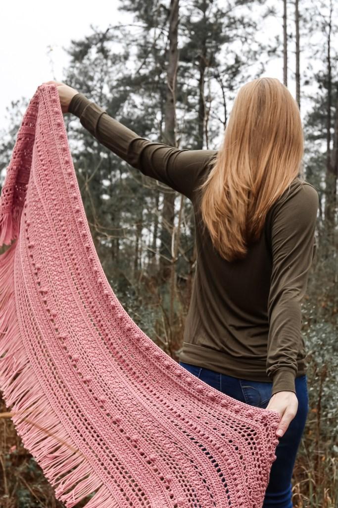 Crochet Shawl Project.