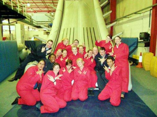 Cabin crew training slide