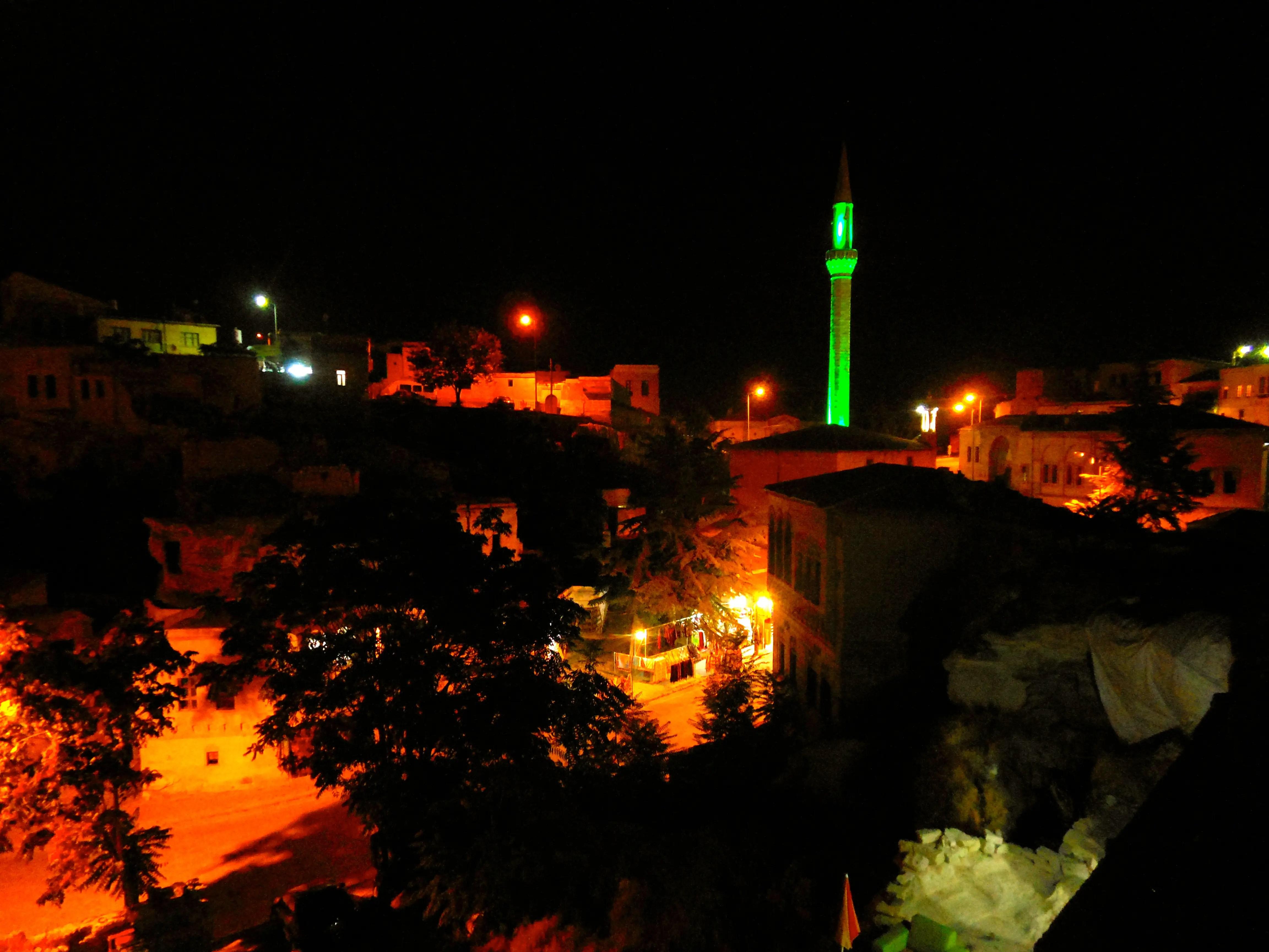 Mustafapasa at night