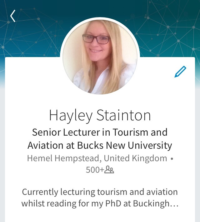 Hayley Stainton Linkedin