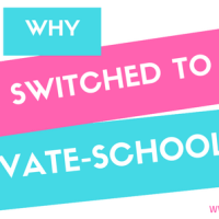 Why I Switched From Homeschooling To Private Schooling