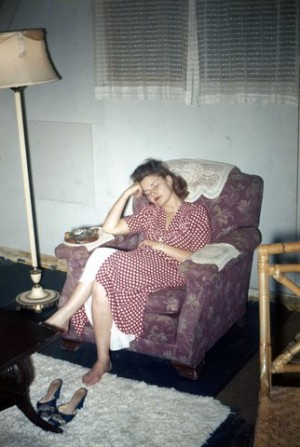 Tired Bettie, Okinawa 1947