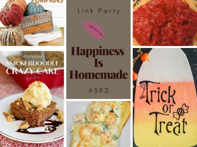 Happiness is Homemade #392 features collage