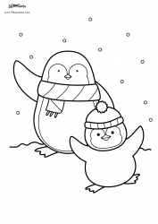 Animal Coloring Page Set 2