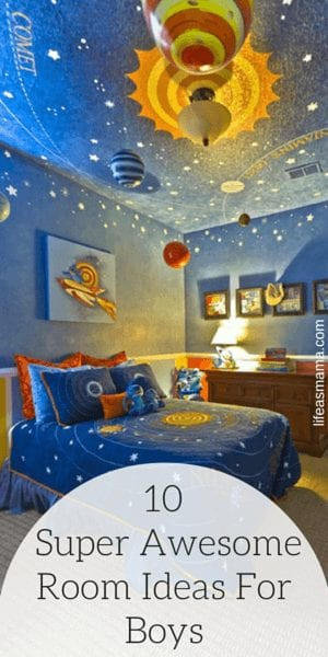 10 Super Awesome Room Ideas For Boys