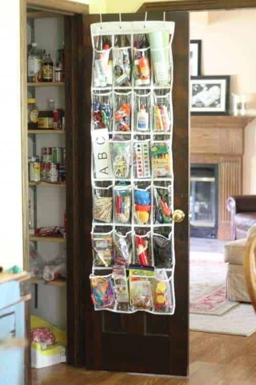 over-the-door-craft-bin