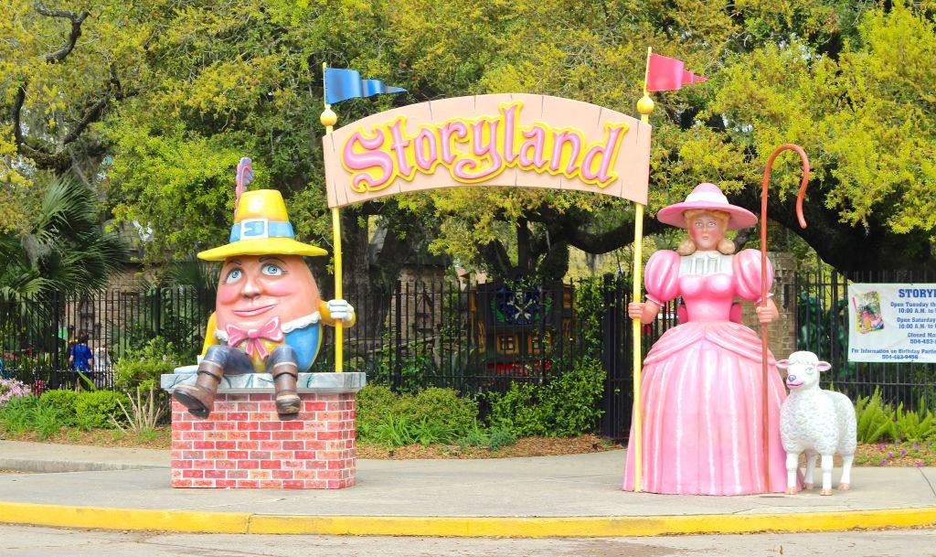 Storyland Entrance-LAM