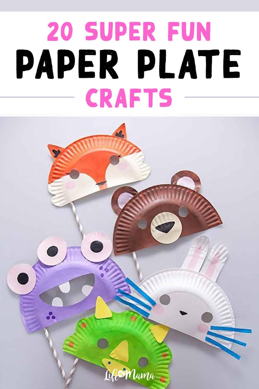 20 Super Fun Paper Plate Crafts