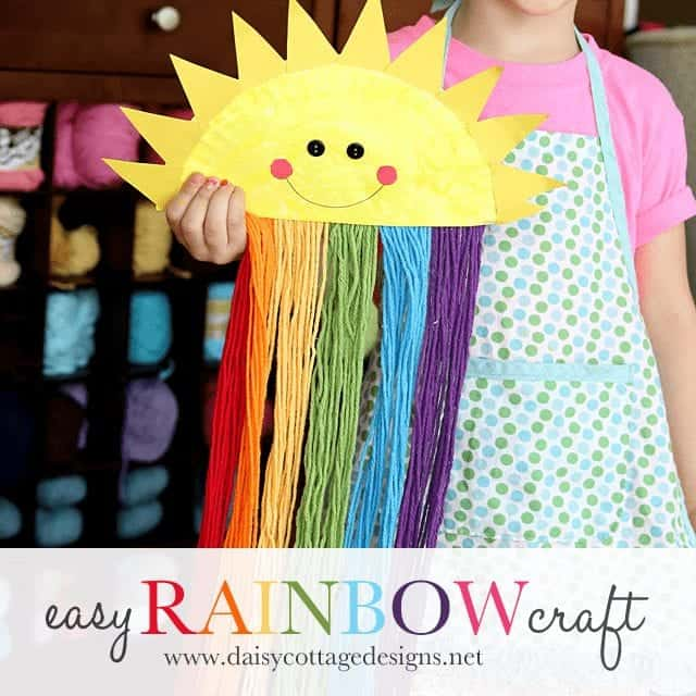Easy+Paper+Plate+Sunshine+Craft