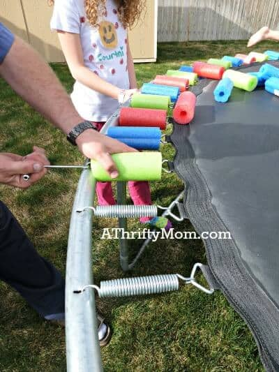 replace-a-worn-out-trampoline-safety-pad-with-pool-noodles-Easy-DIY-diy-poolnoodlestrampoline-homeimprovement
