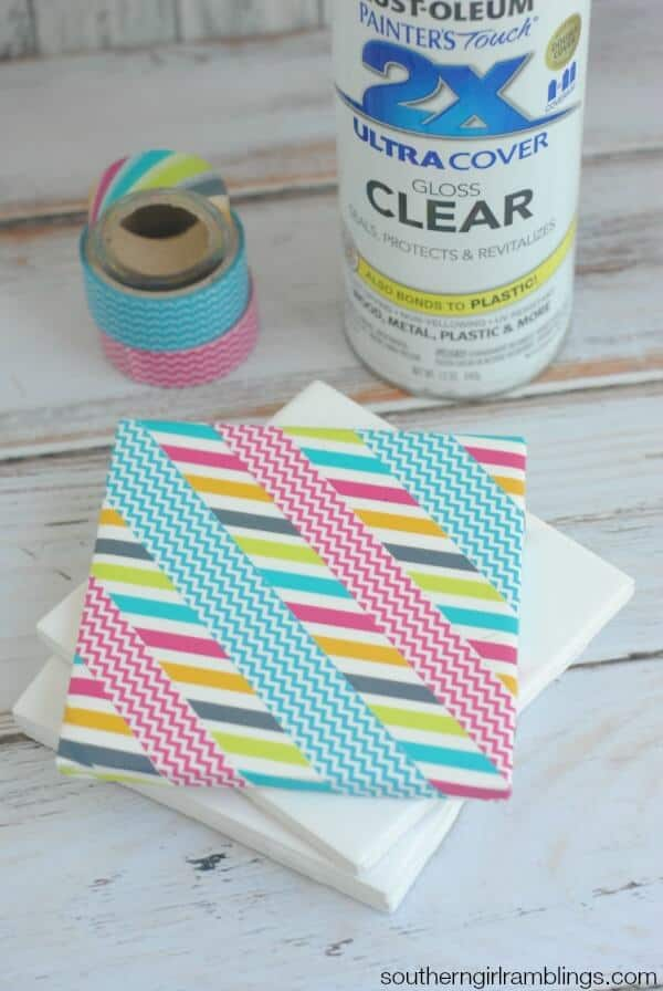 Washi-Tape-Idea-DIY-Coasters