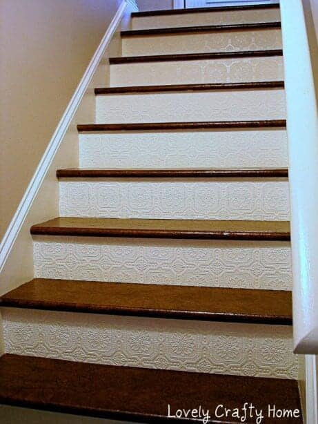 Textured-Wallpaper-and-Paper-Stairs-1-768x1024