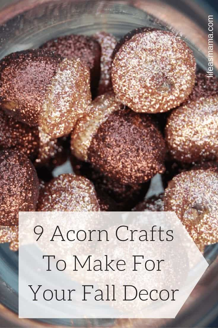 9 Acorn Crafts To Make For Your Fall Decor