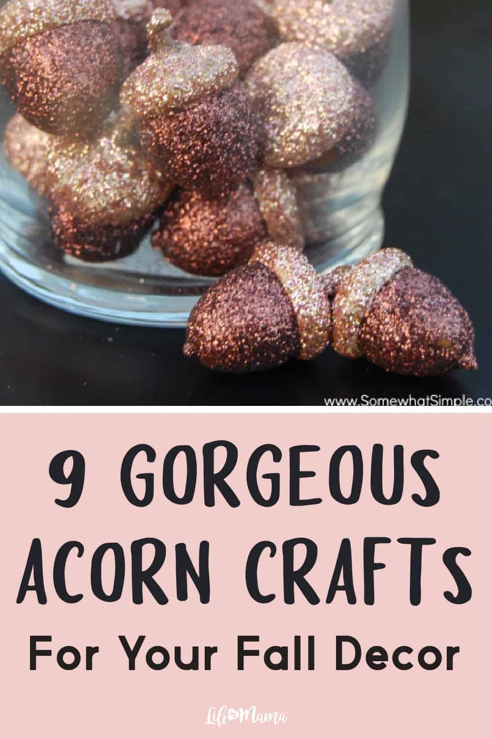 9 Gorgeous Acorn Crafts For Your Fall Decor