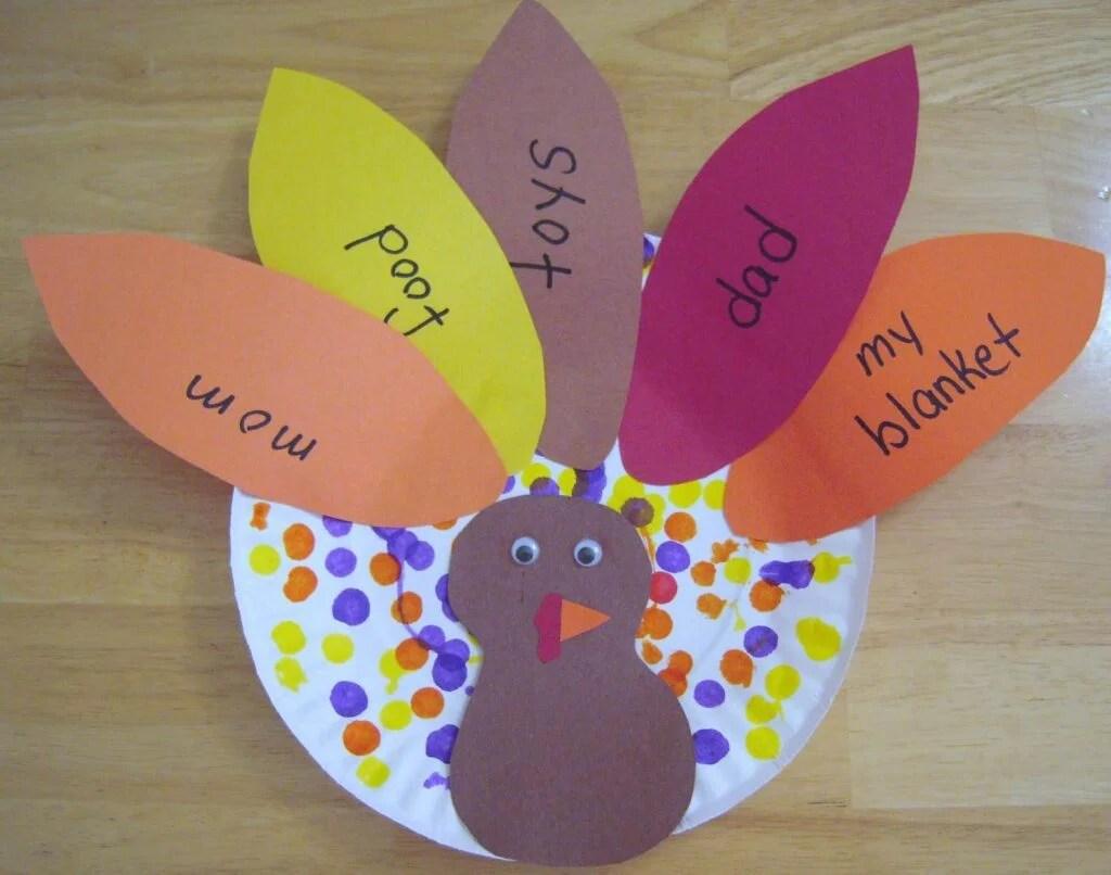7 Adorable Kids Crafts That Teach Thankfulness