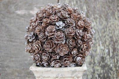 Pinecone Topiary 2