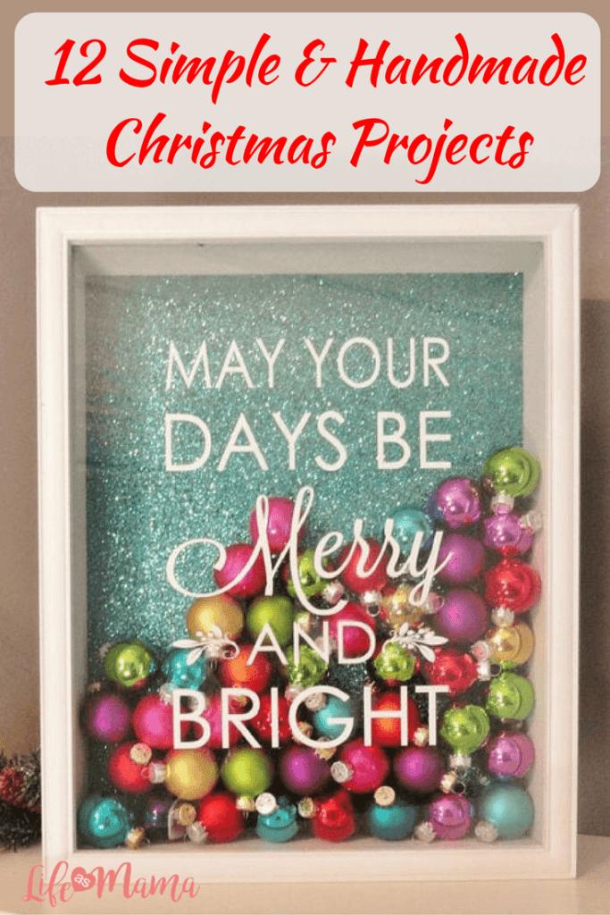 handmade Christmas projects