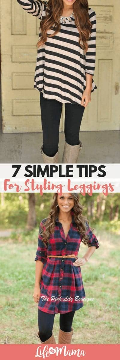 7 Simple Tips For Styling Leggings