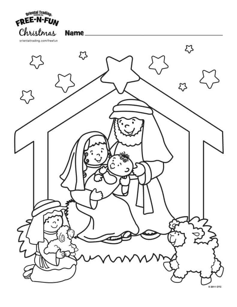 9 Wonderful Winter Kids Coloring Pages Page 2 Of 3