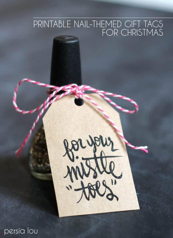 mistle toe nail polish