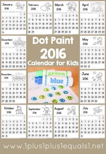 2016-Dot-Fun-Calendar-for-Kids