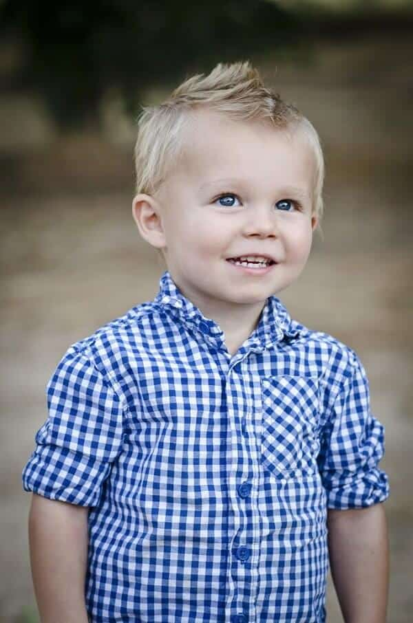 Toddler Haircut Boy