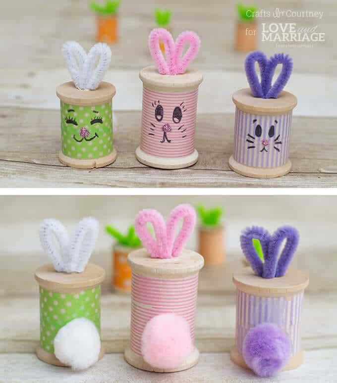 Easter-Bunny-Thread-Spool-5