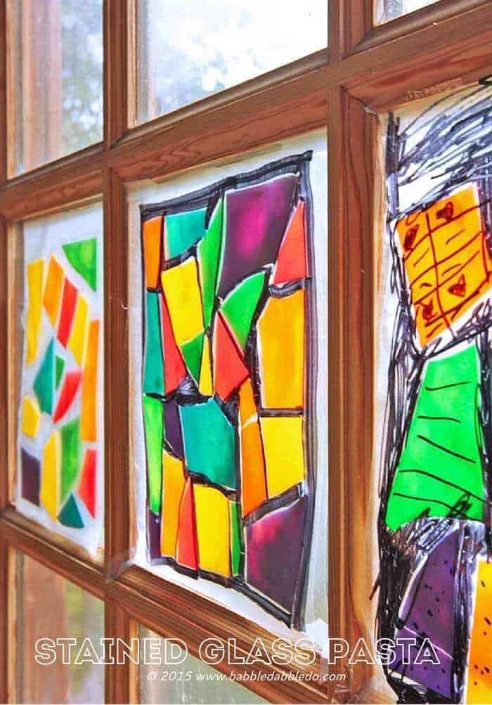 Stained-Glass-Pasta-BABBLE-DABBLE-DO-title3