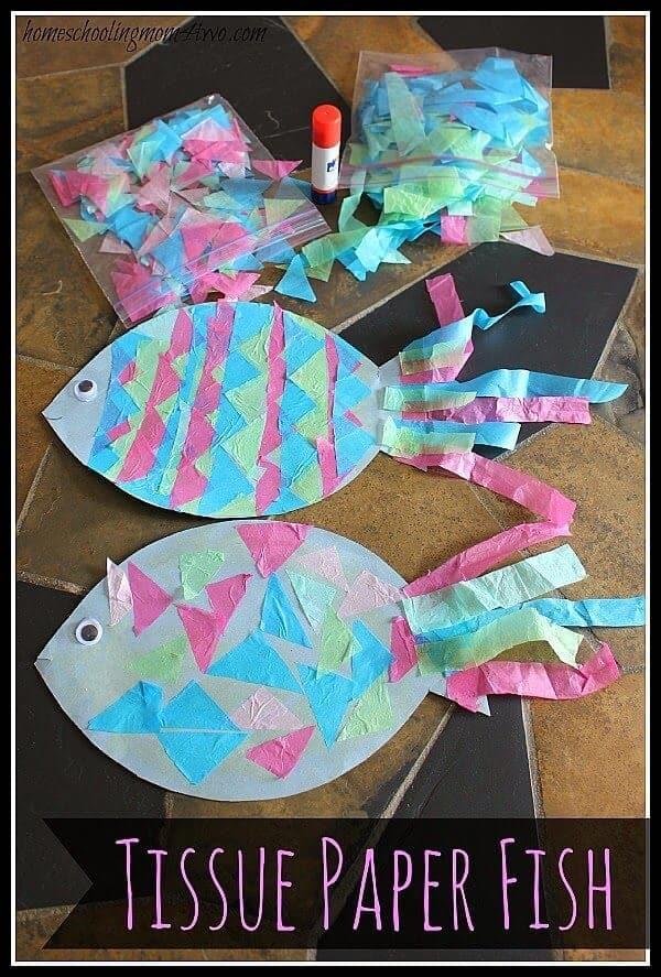 Tissue Paper Fish